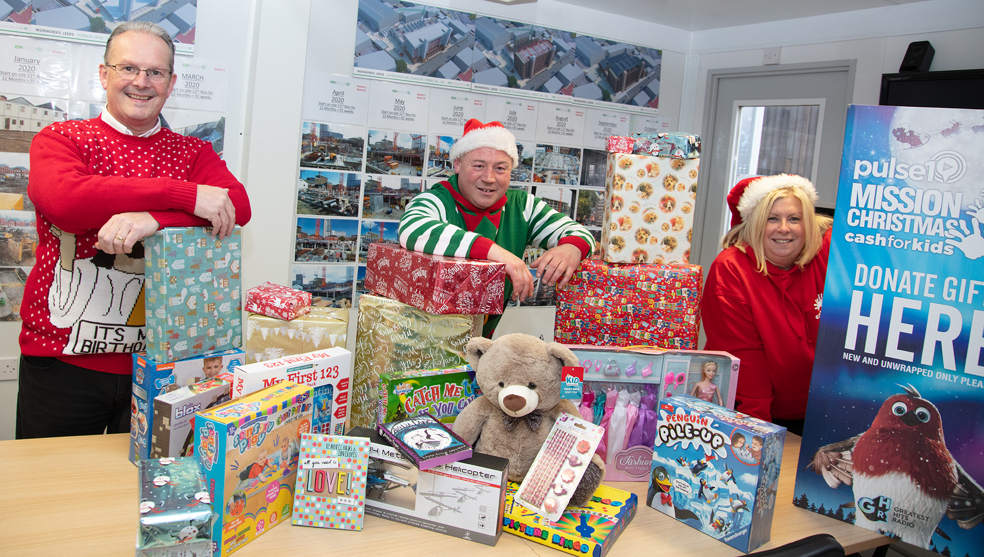 Charity appeal success for Esh